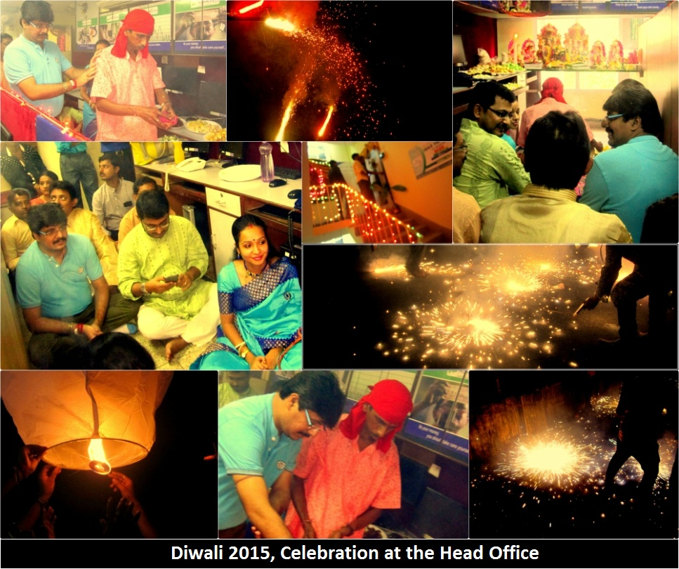 Diwali at Achiievers Office